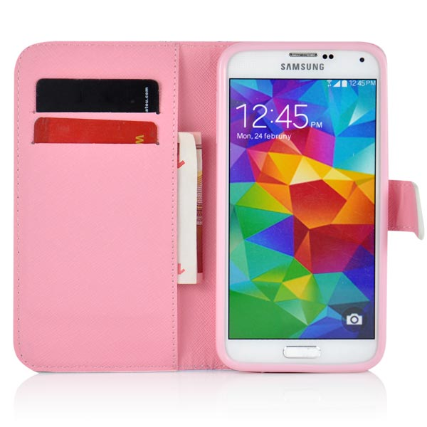 Slicoo Samsung Galaxy S5 kryt Rose & Sunflower