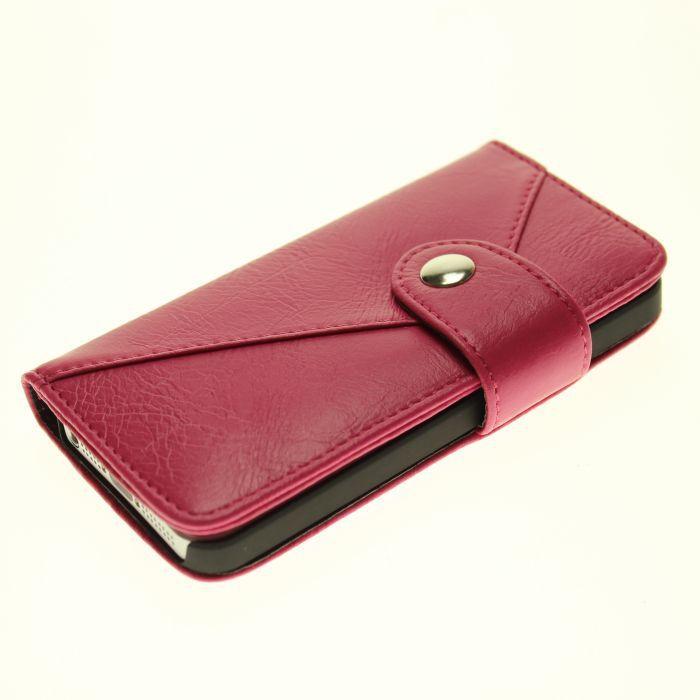 5s puzdro exclusive s priehradkou na kreditné karty ružové