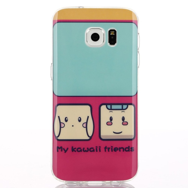 Kryt pre Samsung Galaxy S7 Edge Cute My Kawaii Friends