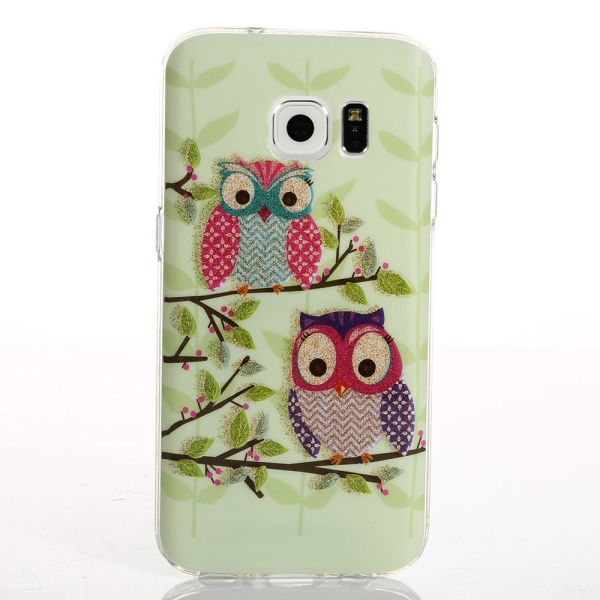 Kryt pre Samsung Galaxy S7 Edge Owls On Tree Branch