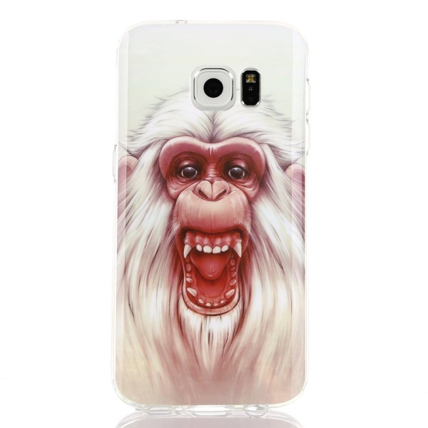 Kryt pre Samsung Galaxy S7 Edge White-headed Gorilla
