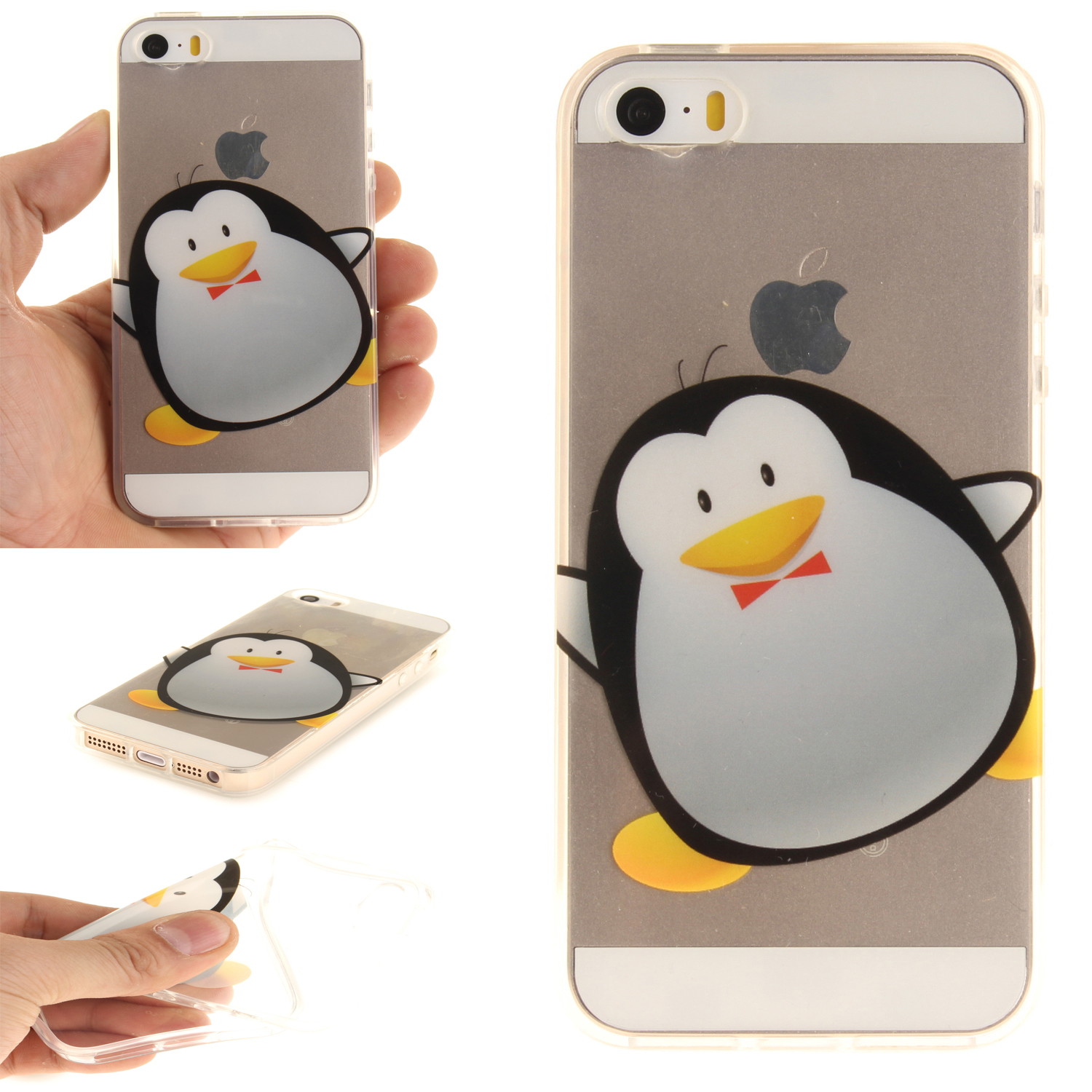 Slicoo iPhone 5 / 5S / SE kryt Lovely Penguin