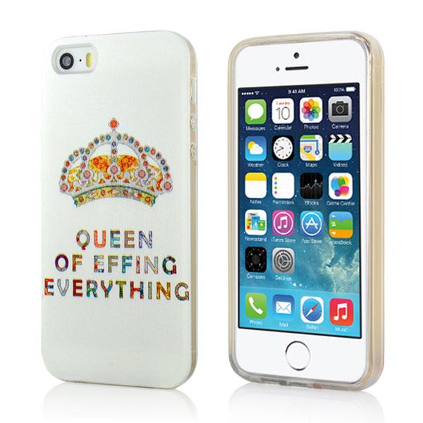 Slicoo iPhone 5   5S   SE kryt Luxury Diamond Crown 277f78fd620