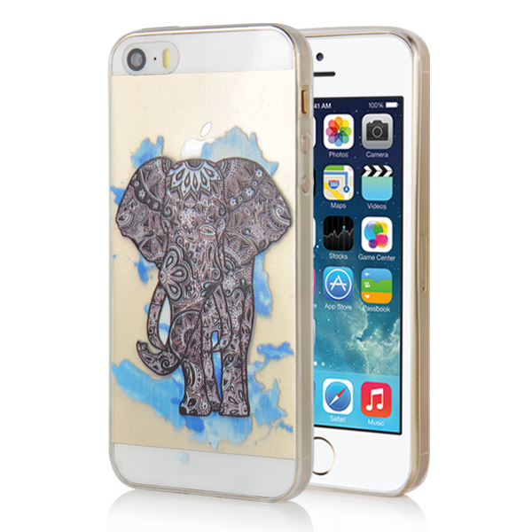 Slicoo iPhone 5 / 5S / SE kryt Elephant
