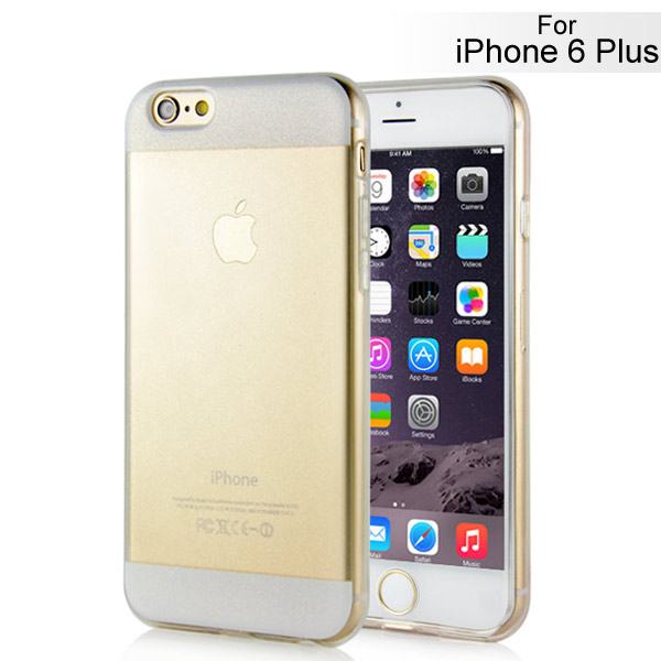 Slicoo iPhone 6 Plus / 6S Plus kryt Elegant Transparent biely