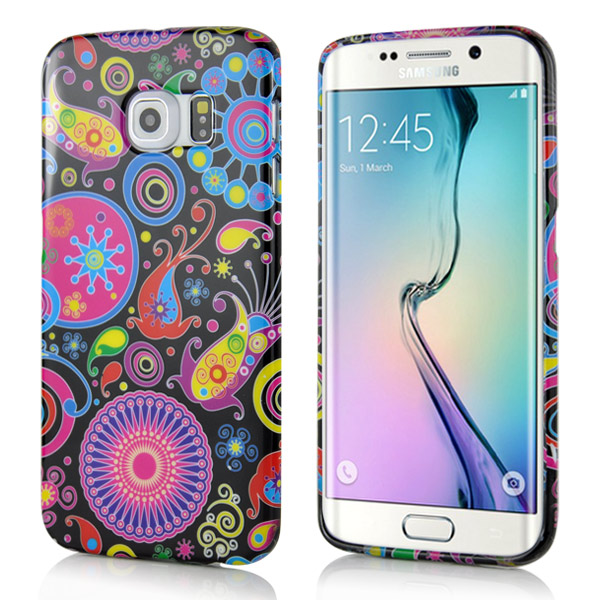 Kryt pre Samsung Galaxy S6 Edge Colorful Jellyfish