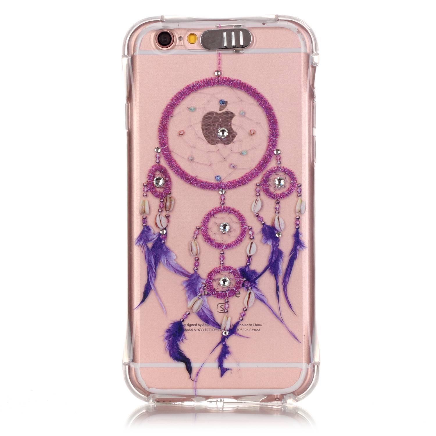 Slicoo iPhone 6 Plus / 6S Plus kryt Diamond Purple Dreamcatcher