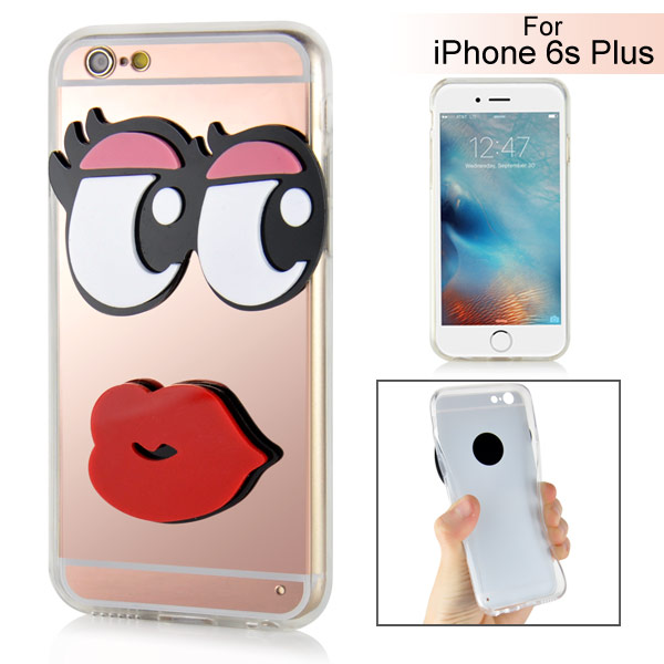 Slicoo iPhone 6 Plus / 6S Plus kryt Huge Eyes Sexy Lips