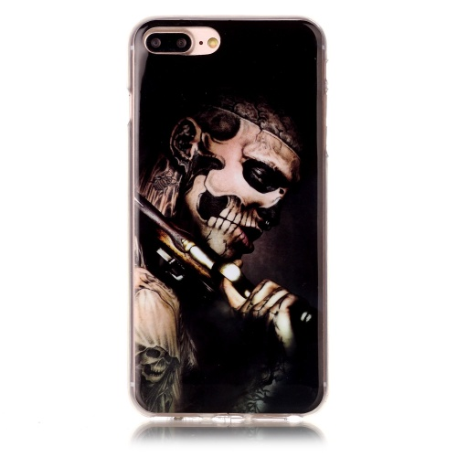 Kryt pre iPhone 7 Plus / 8 Plus Carry gun skeleton man