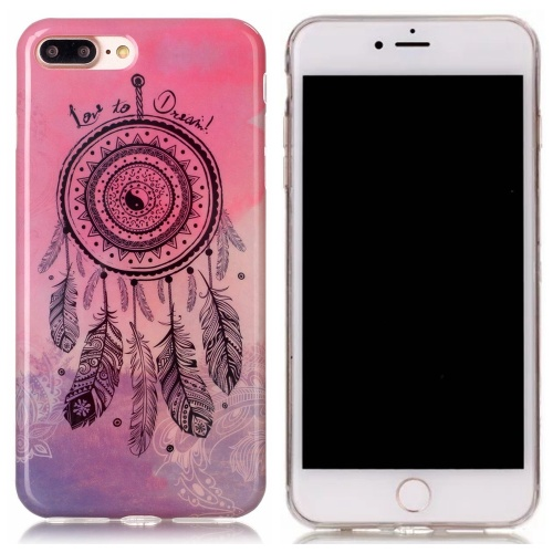 Kryt pre iPhone 7 Plus / 8 Plus Pink Gradient Dreamcatcher