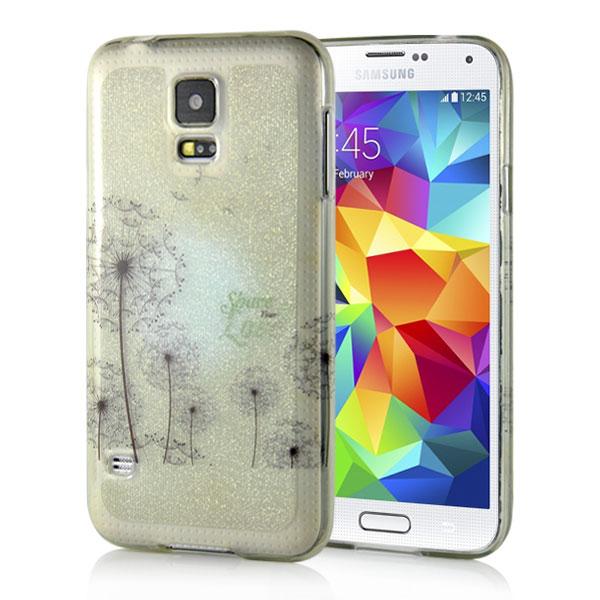 Slicoo Samsung Galaxy S5 kryt Golden Dandelion empty 5196c6f589d