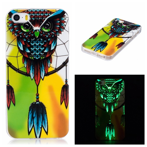 Luminous iPhone 5 / 5S / SE kryt svítící Owl