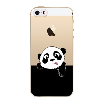 Slicoo iPhone 5 / 5S / SE kryt Panda