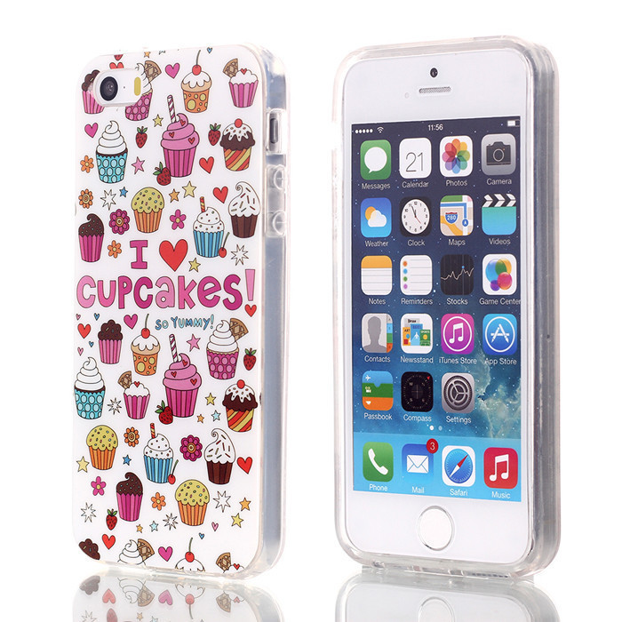 Slicoo iPhone 5 / 5S / SE CUPCAKES