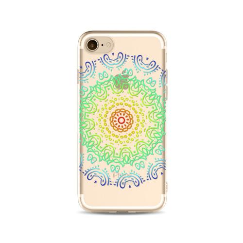 Kryt pre iPhone 7   8 Colorful mandala empty 23a629174fe