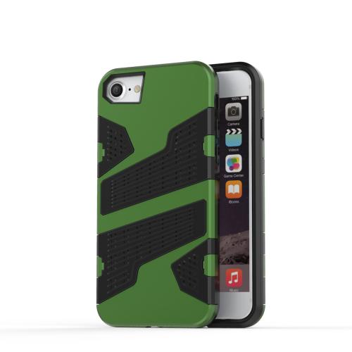 Kryt pre iPhone 7   8 odolný kryt Mesh Armor zelený empty 9dc35cda6ae