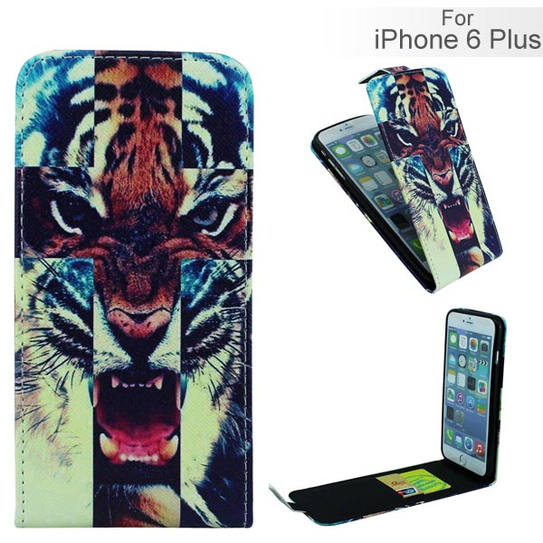 Slicoo iPhone 6 Plus / 6S Plus puzdro  flip Tiger