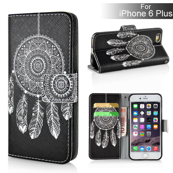 Slicoo iPhone 6 Plus / 6S Plus puzdro Black White Dreamcatcher