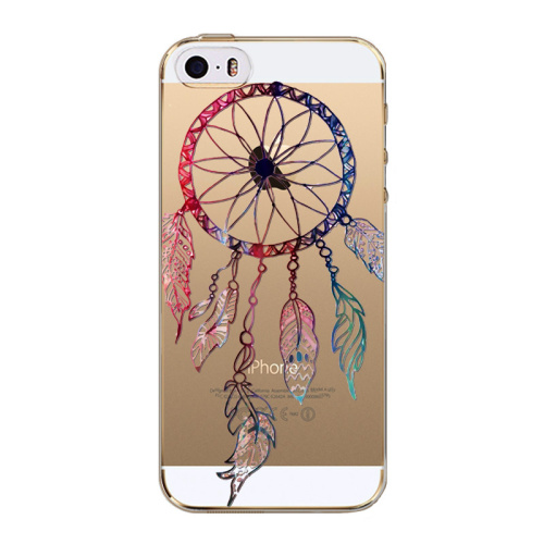 Slicoo iPhone 5   5S   SE kryt Colorful Dreamcatcher empty 655d16b80e7