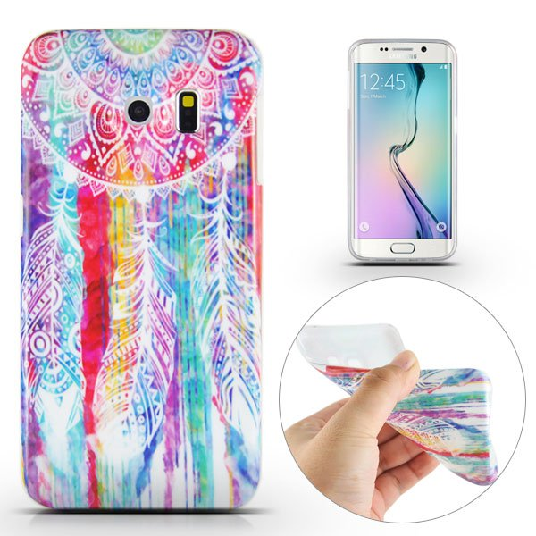 Kryt pre Samsung Galaxy S6 Edge Colorful Dreamcatcher