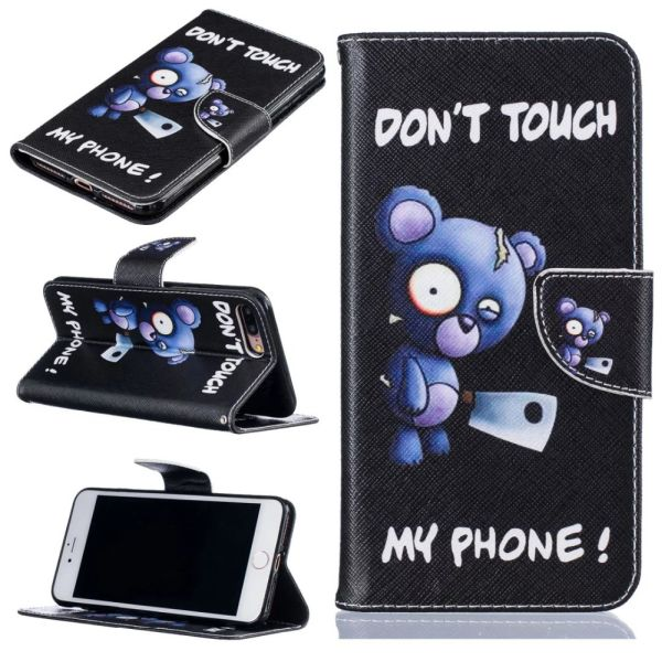 Puzdro pre iPhone 7 Plus / 8 Plus Don't Touch My Phone Angry Bear