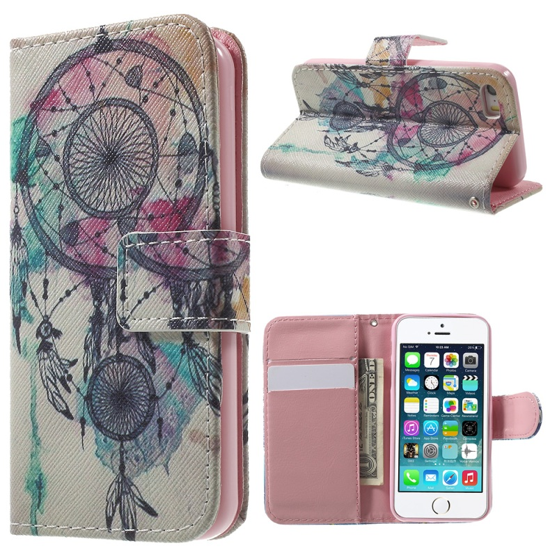Puzdro na iPhone 5 / 5S / SE Lapač snů dreamcatcher