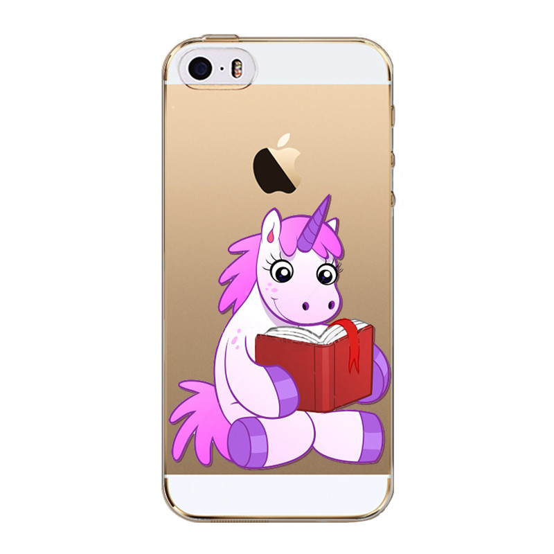 Kryt pre iPhone 5 / 5S / SE Unicorn Book