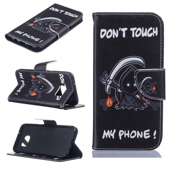 Puzdro na Samsung Galaxy S7 Edge Do Not Touch My Phone demon