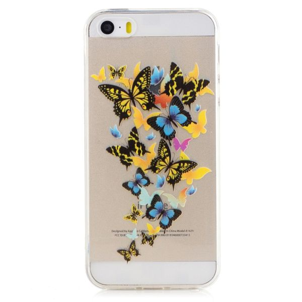 Kryt pre iPhone 5 / 5S / SE Flying Butterflies
