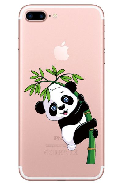 Kryt na iPhone 7 Plus / 8 Plus Panda bambus