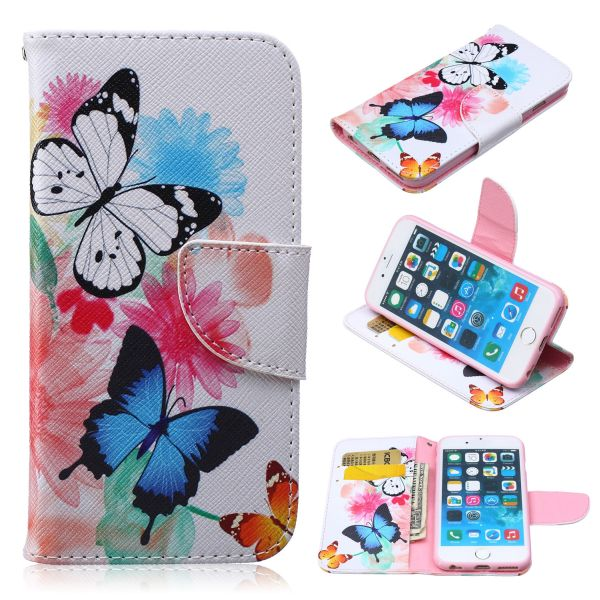 Puzdro pre iPhone 5 / 5S / SE Butterfly