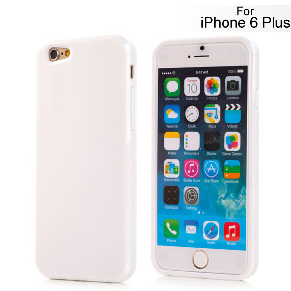 Slicoo iPhone 6 Plus / 6S Plus kryt Slim TPU biely