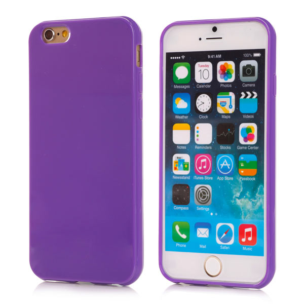 Kryt pre iPhone 6   6S Slim fialový empty 8585cc58e7d
