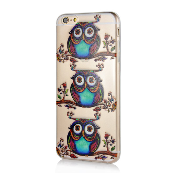 Slicoo iPhone 6 Plus / 6S Plus kryt Cute Owls