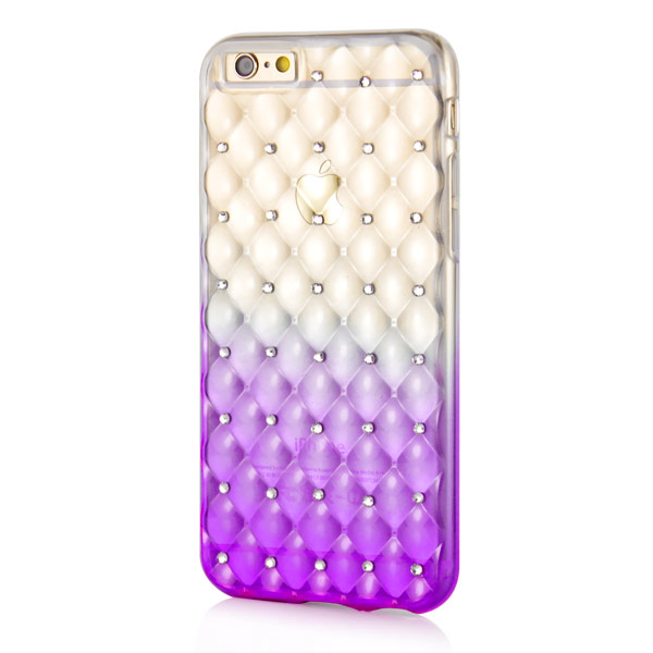 Slicoo iPhone 6 Plus / 6S Plus kryt Luxury Diamond fialový