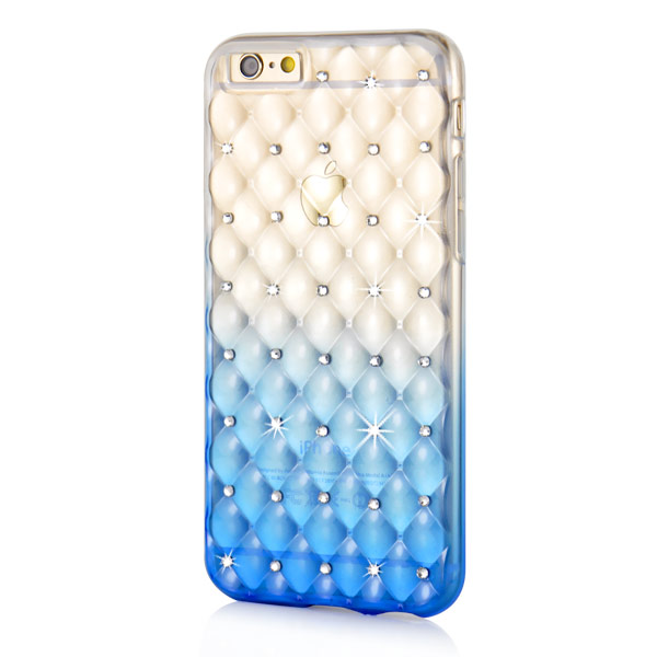 Slicoo iPhone 6 Plus / 6S Plus kryt Luxury Diamond modrý