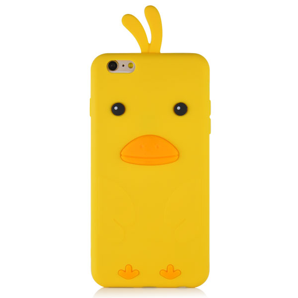 Slicoo iPhone 6 Plus / 6S Plus kryt 3D Chick žltý