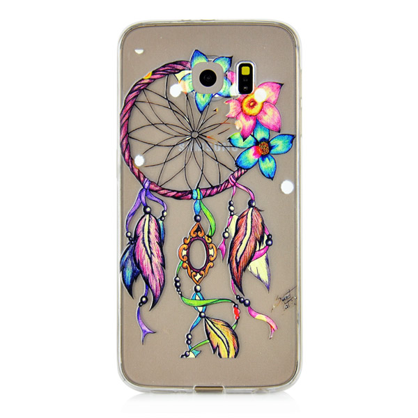 Kryt pre Samsung Galaxy S6 Dreamcatcher And Flower