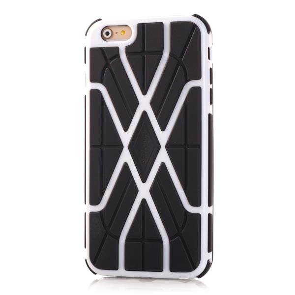 Slicoo iPhone 6 Plus / 6S Plus kryt Sleek Spider TPU biely