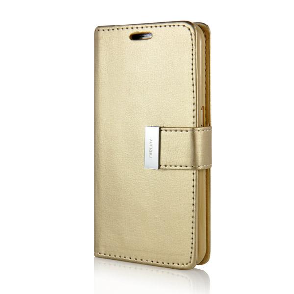 Puzdro pre Samsung Galaxy S7 RICH DIARY zlaté  afd6971b3e8