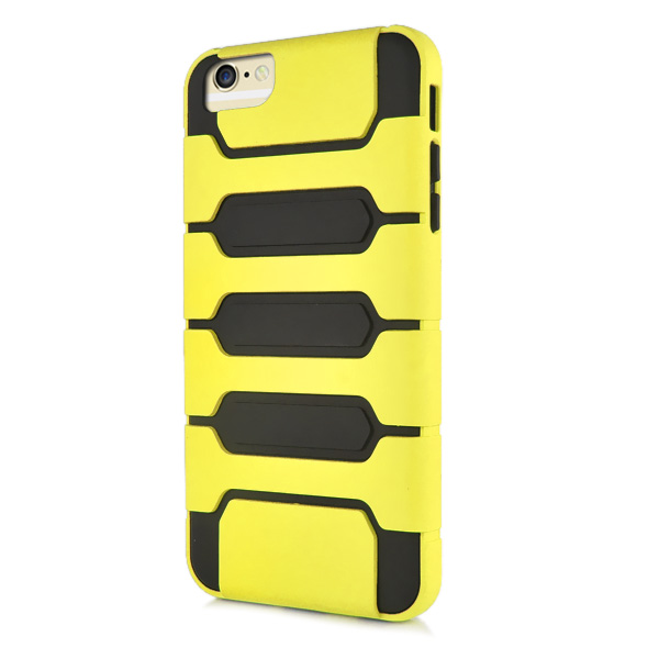 Slicoo iPhone 6 Plus / 6S Plus kryt Tank Design TPU žltý