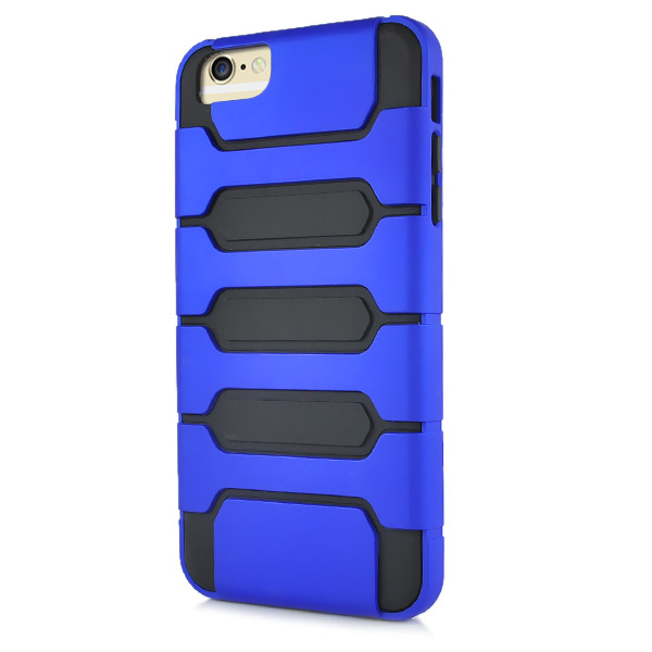 Slicoo iPhone 6 Plus / 6S Plus kryt Tank Design TPU modrý