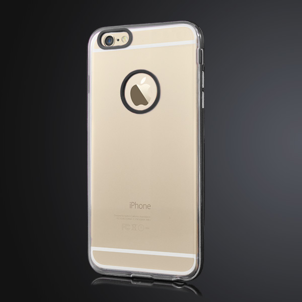 Slicoo iPhone 6 Plus / 6S Plus kryt Slim TPU čierny