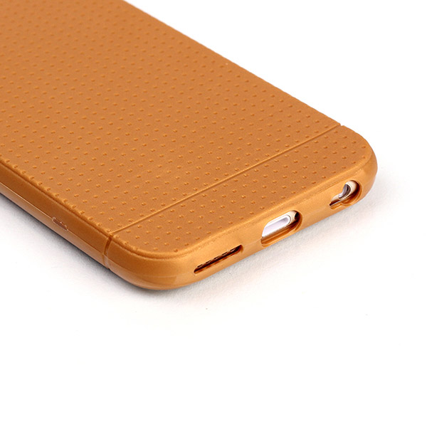 Slicoo iPhone 6 Plus / 6S Plus kryt Anti-skid TPU bronzový