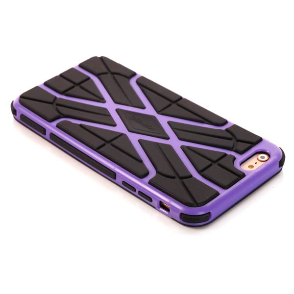 Slicoo iPhone 6 Plus / 6S Plus kryt Sleek Spider TPU fialový