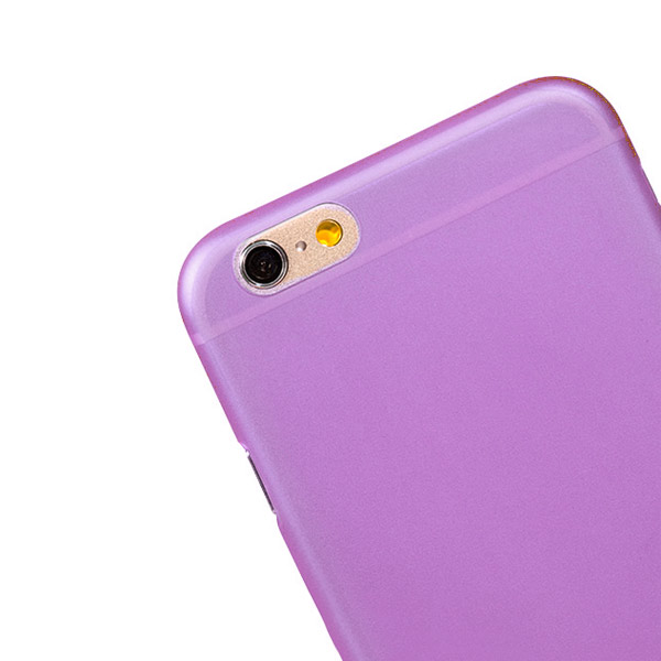 Slicoo iPhone 6 Plus / 6S Plus ultratenký kryt 0.3mm a váha 7g fialový