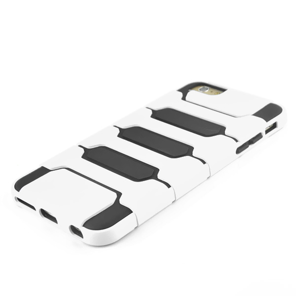 Slicoo iPhone 6 Plus / 6S Plus kryt Tank Design TPU biely