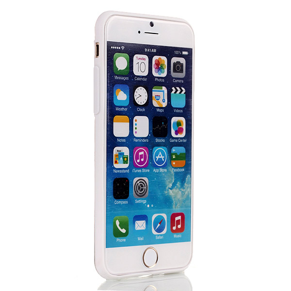 Slicoo iPhone 6 Plus / 6S Plus kryt Ultra-Thin Glossy biely
