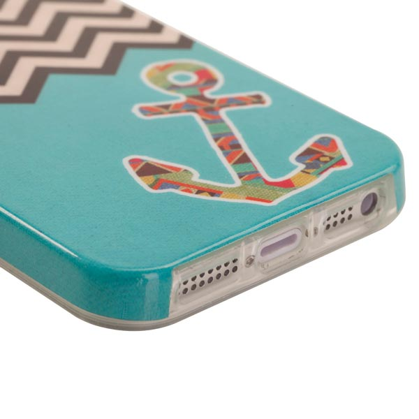 Slicoo iPhone 5 / 5S / SE kryt Wave Anchor