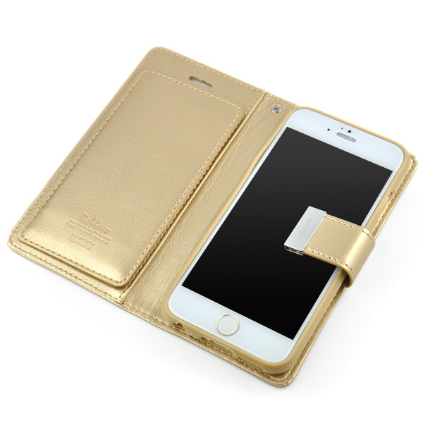MERCURY iPhone 6 Plus   6S Plus puzdro RICH DIARY zlaté  721377adda5